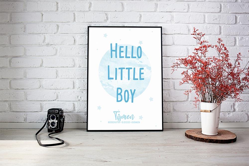hello little boy blauw